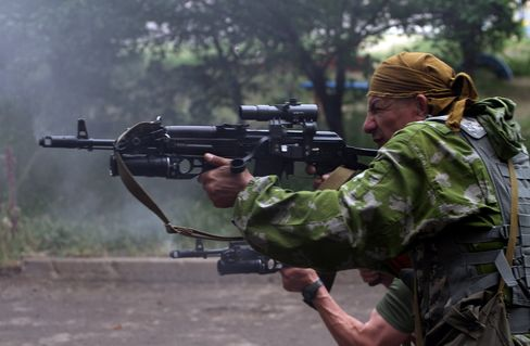 Clashes in Luhansk