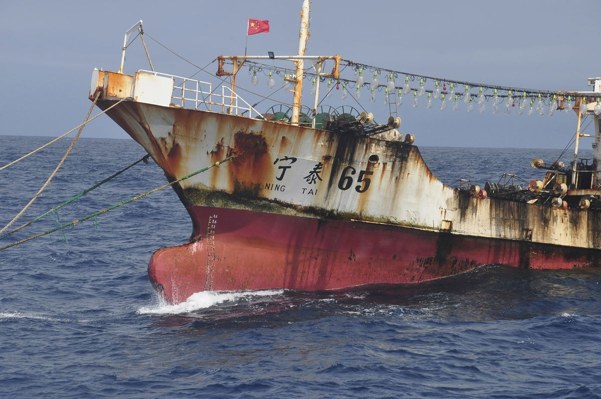 Vigilante Patrol Finds Chinese Ships Fishing Near Galapagos, Unesco Heritage Site