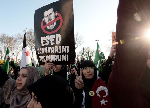 Protest in Turkey