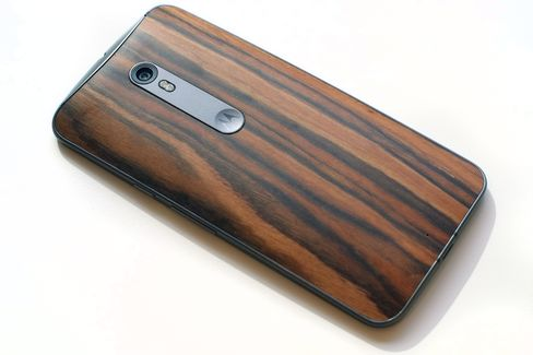 The curved design of the Moto X Style makes it easier to hold than other large phones.