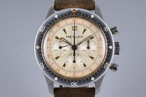 This is a typical 1960s sports chrono with a bunch of unusual details.