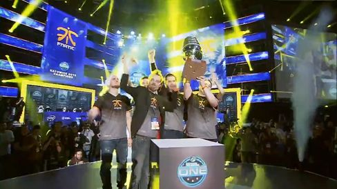 Hundreds of thousands of dollars were gambled on the outcome of the ESL grand finals between Fnatic and Ninjas in Pyjamas