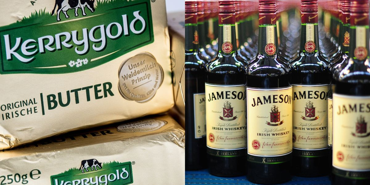 Trump's Tariffs Are Coming for Your Kerrygold Butter and Jameson