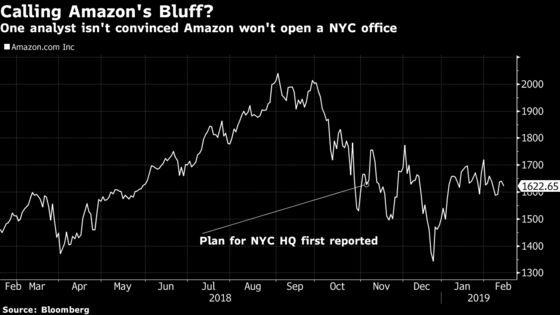 Amazon's Biggest Bull Says It May Be Bluffing About Nixed NYC HQ