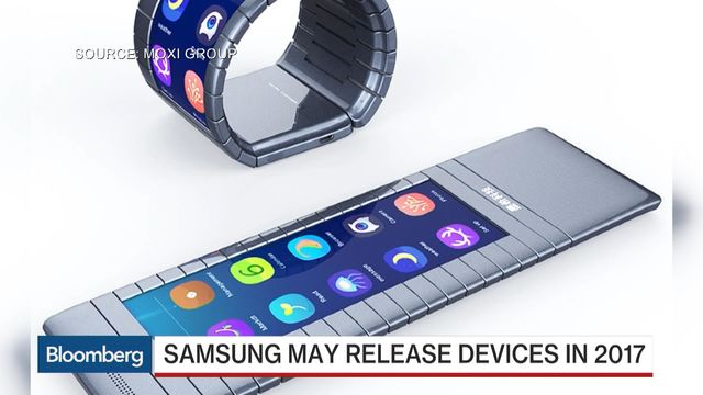 Samsung May Release Phones With Bendable Screens in 2017 ...