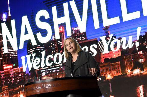 Nashville Mayor Megan Barry.