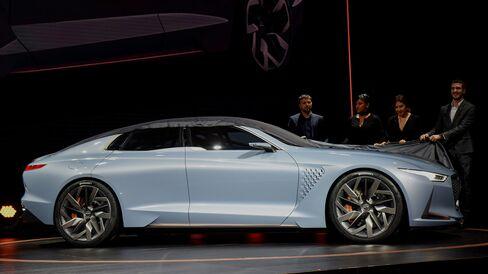 The Hyundai Motor Co. Genesis New York concept