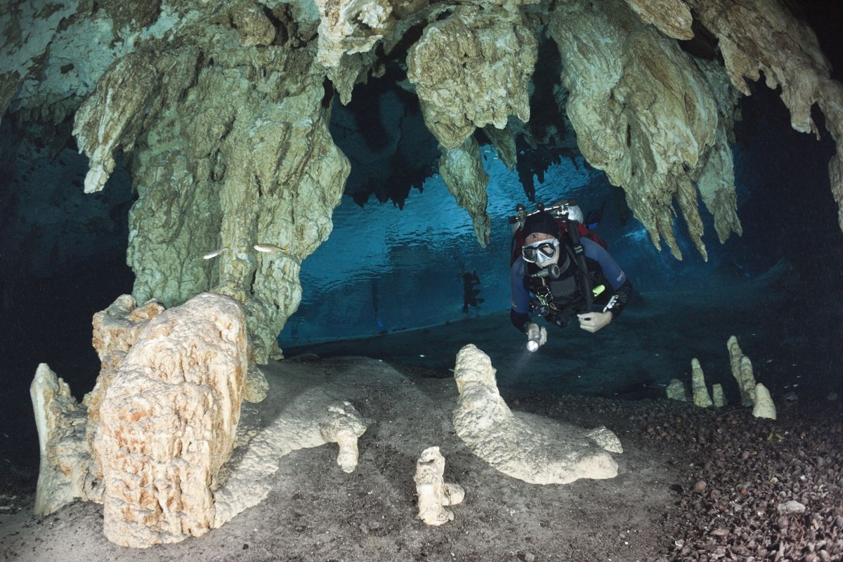 Divers Have Discovered the World's Longest Underwater Cave