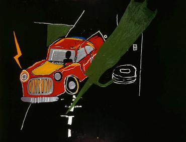 Basquiat Car