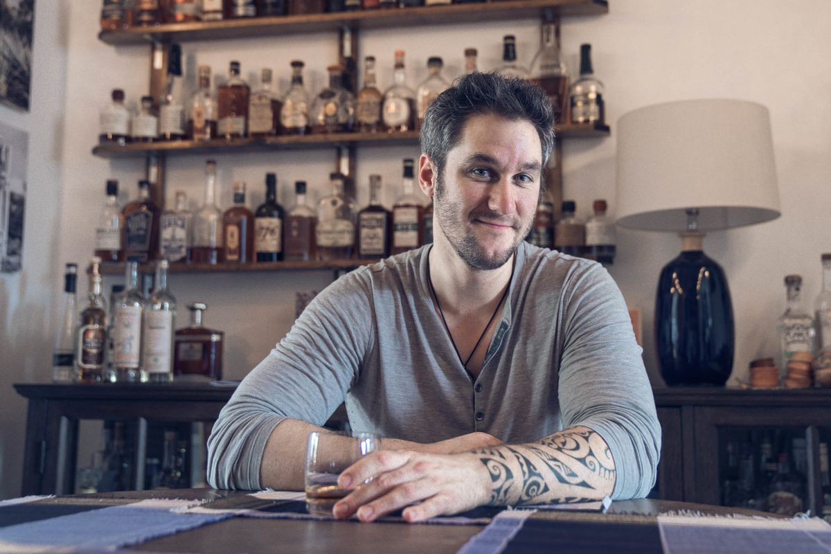 This Bartender Turned His Dining Room Into A Walk In Liquor Closet