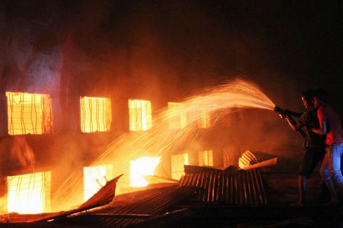 Bangladesh's Tazreen Fire Is Followed by Further Garment Factory Blazes