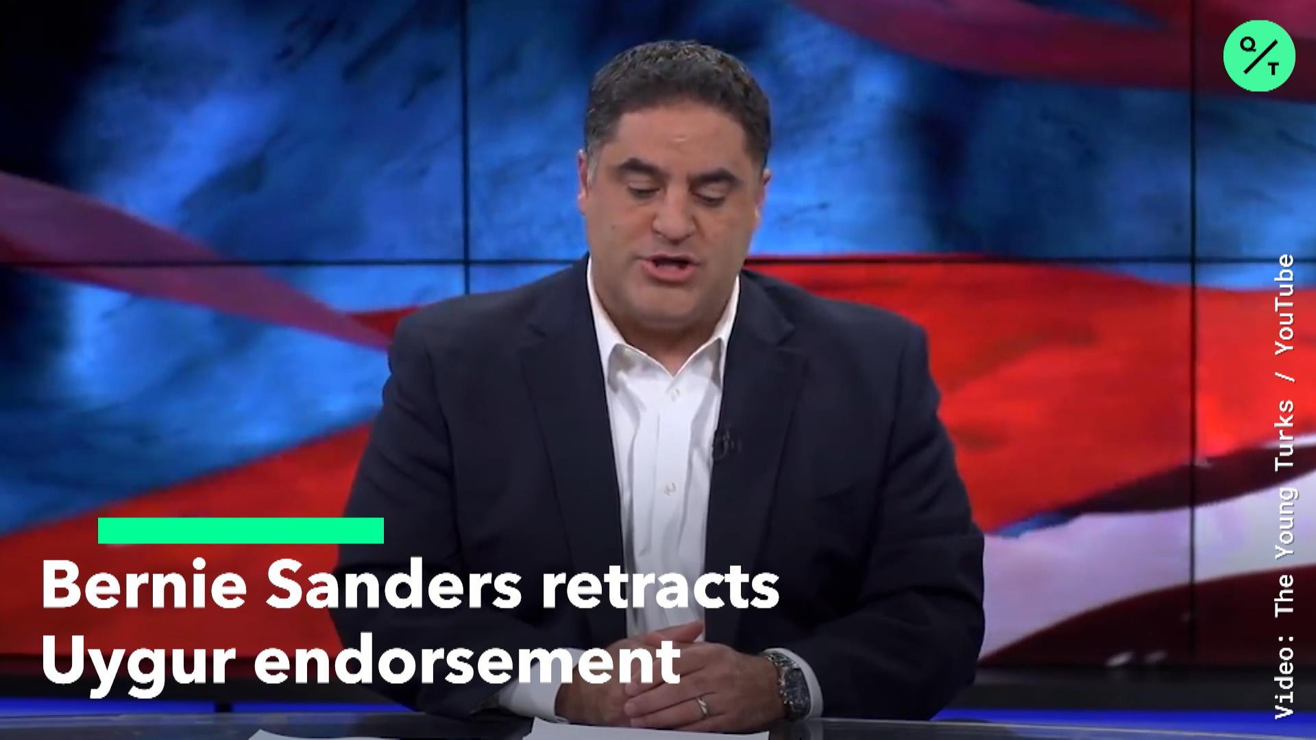 Sanders retracts Uygur endorsement