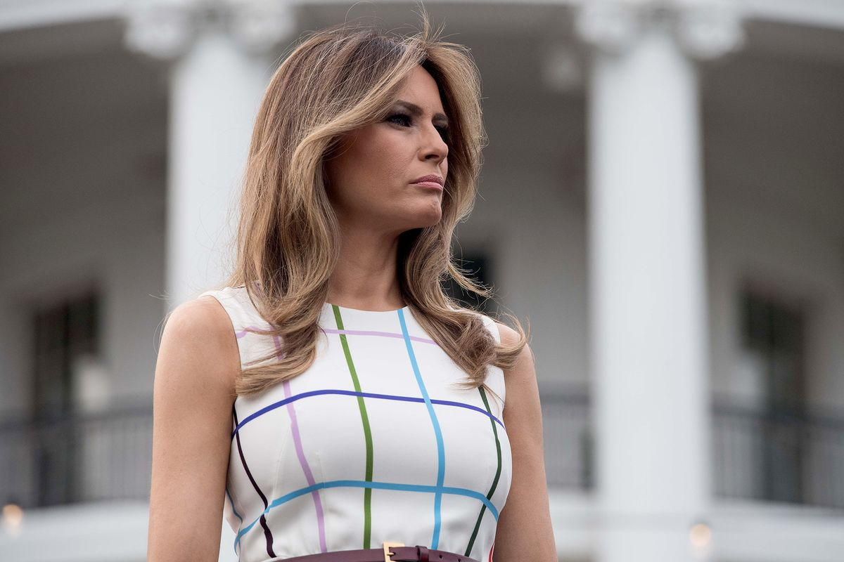 Melania Trump Tussles Med Ivana Over First Lady Status-9544