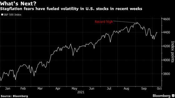 Goldman, JPMorgan Say Buy the Dip as Inflation Is Transitory