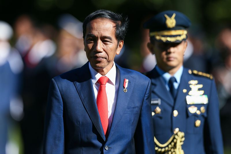 Indonesias jokowi to partner with cleric in bid for second term joko widodo photographer hagen hopkinsgetty images reheart