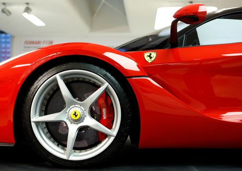 Ferrari's LaFerrari hybrid was unveiled during the 2013 Geneva Motor Show. It's based in large part on the famous Ferrari FXX, with a body weight under a skeletal 2,800 pounds and a V12, 789hp engine. It'll reach 60 mph in less than three seconds. Price: $1.69 million