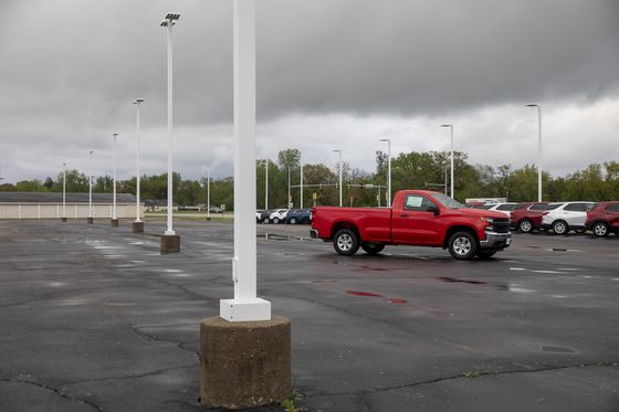 As Car-Lot Inventories Dwindle, Sales Take a Turn for the Worse