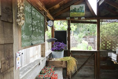 A local farm stand goes by the honor system: Take what you want and leave your money behind.