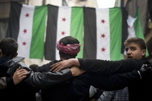 Syrian Rebels Seek More Global Support at Morocco Meeting