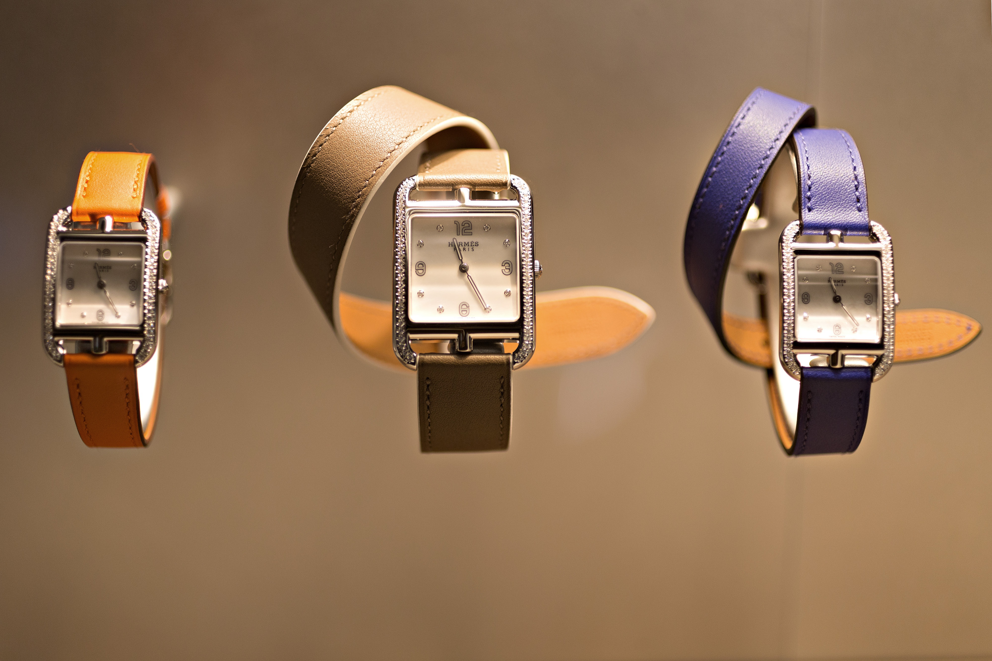 Cape Cod model luxury wristwatches, produced by Hermes International SCA.