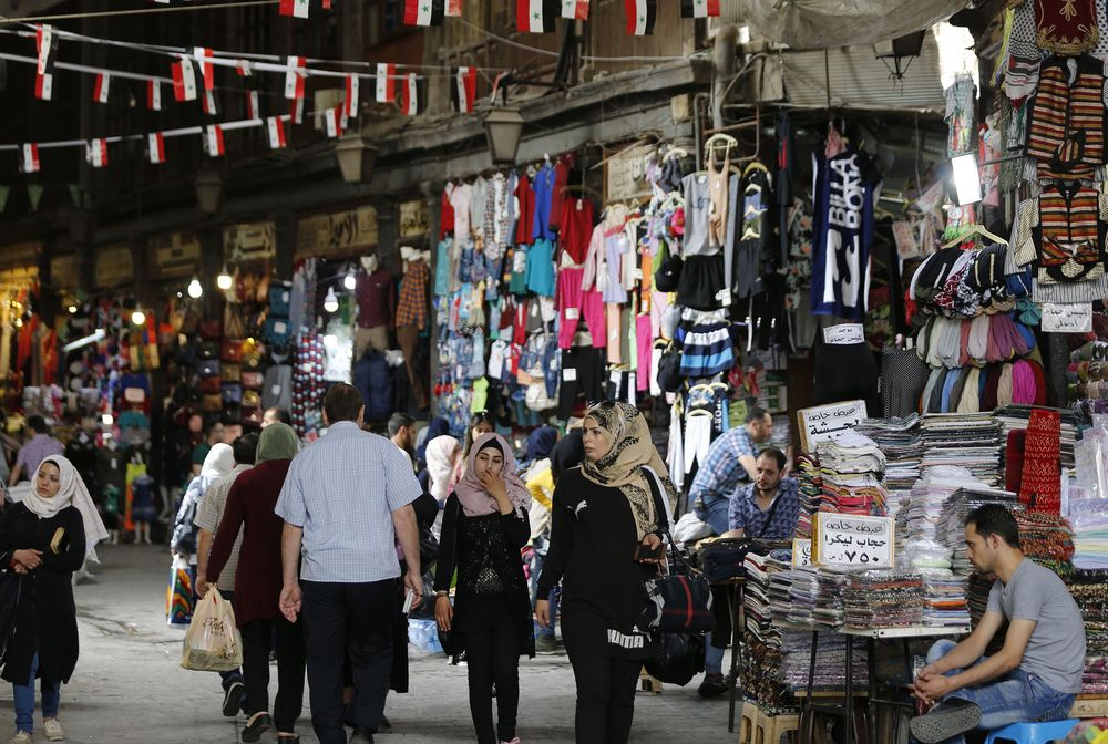My Search for a Tablecloth in Damascus Shows the Ravages of