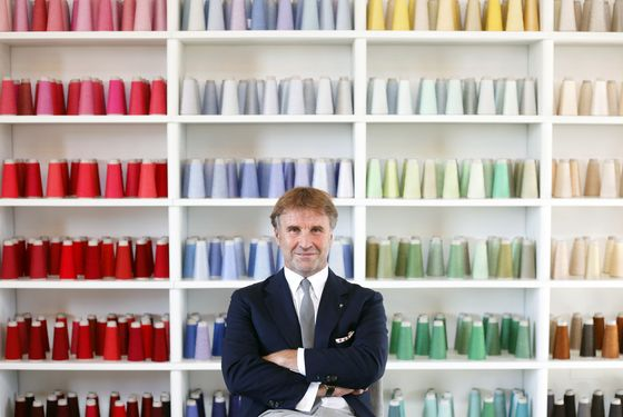 Cucinelli Says You Can't Digitize the Feel of a Cashmere Sweater