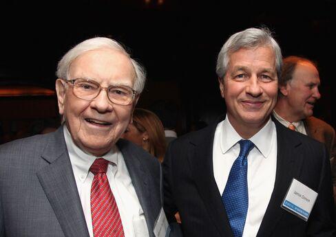 Warren Buffett and Jamie Dimon