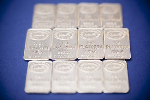 Platinum Poised for Best Month in Year as Gold Drops in January