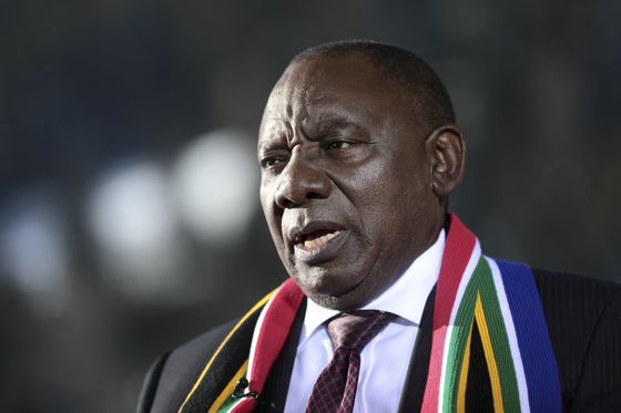 Ramaphosa Says State Companies Are `Sewers of Corruption'