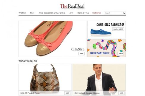 Luxury Consignment Site RealReal Raises $20 Million