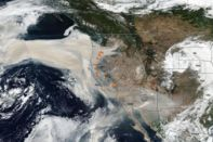 relates to California Fires Are Emitting Record Amounts of Carbon Dioxide