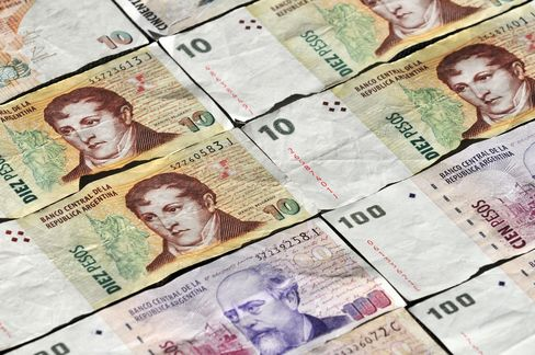 Argentine Peso Surges in Unregulated Market on Rule Change