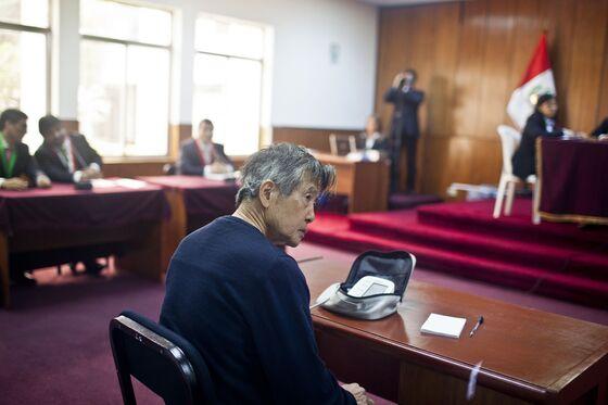 Peru's Congress Passes Bill to Grant Fujimori House Arrest
