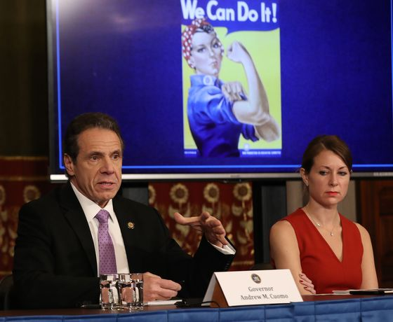 Cuomo's Top Aide Defends Her Boss andHerself: 'I'm a Human Being'