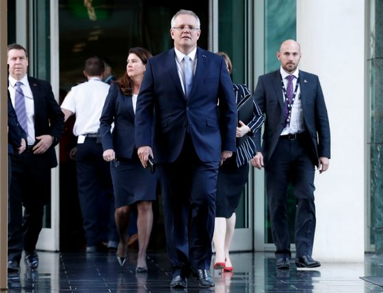 Australia's New Leader Scott Morrison: 'No Easy Job in Politics'