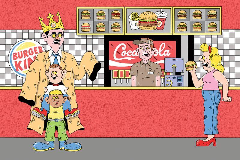 Burger Kings Ceo Daniel Schwartz Is 33 Years Old Bloomberg