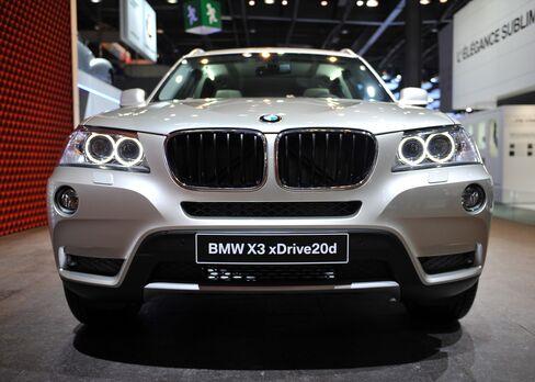 BMW Profit Beats Analysts' Estimates on 5-Series, X3 Demand