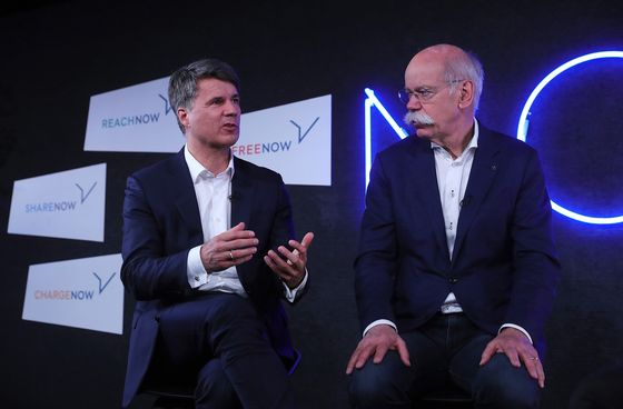 Daimler and BMW Plan $1.1 Billion Uber Battle