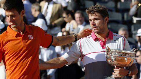 Novak Djokovic & Stanislas Wawrinka