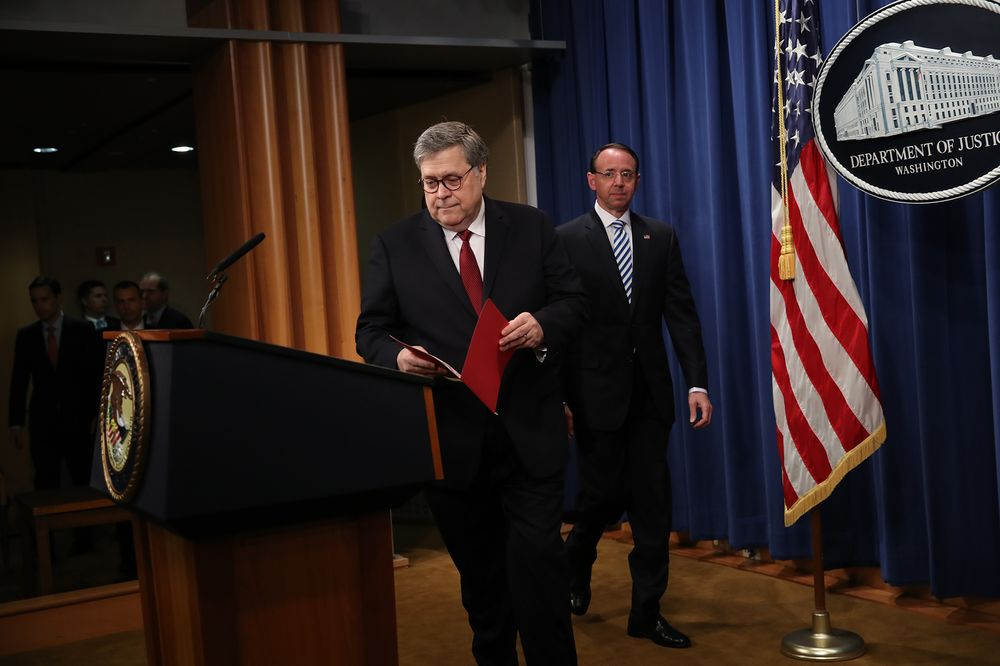 Barr Says Mueller Found 10 Cases of Possible Trump Obstruction