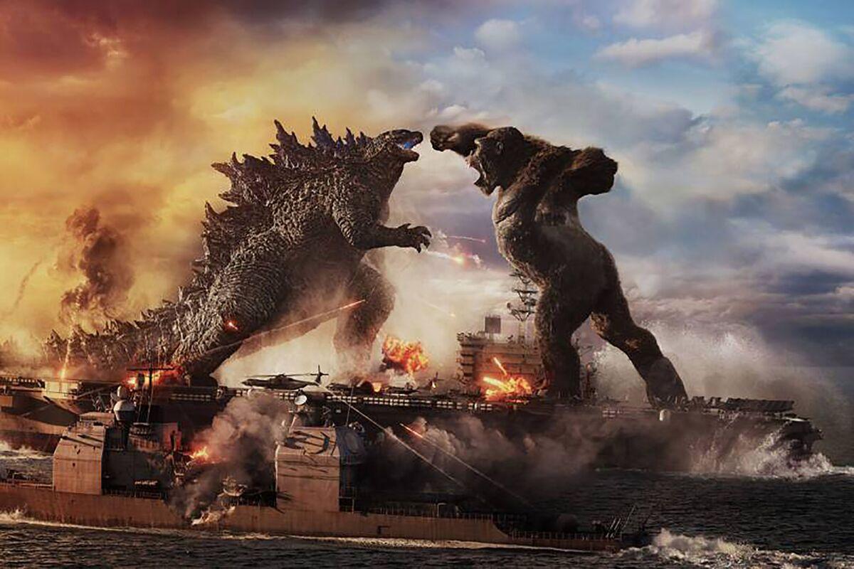 'Godzilla vs.  Kong 'extends Warner Bros.  'Rule at the box office