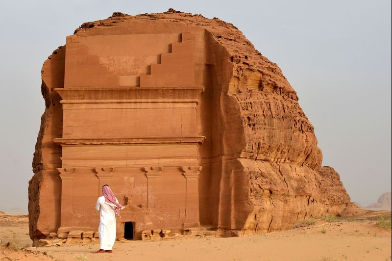 TOPSHOT-SAUDI-TOURISM-ARCHAEOLOGY