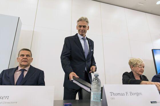 Danske Names Interim CEO as Borgen Is 'Relieved of His Duties'