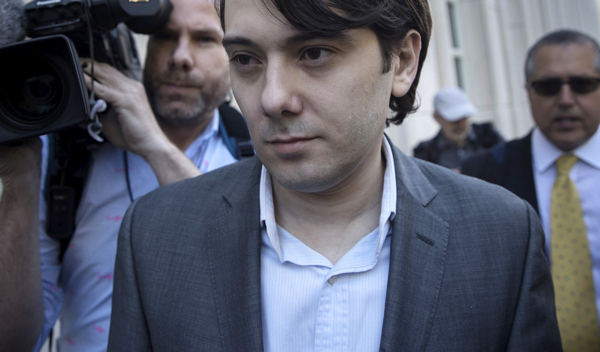 Shkreli Ordered by U.S. Judge to Forfeit Almost $7.4 Million thumbnail