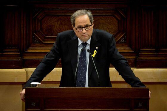 Rajoy's Catalan Challenge Returns With Threat to Spanish Budget