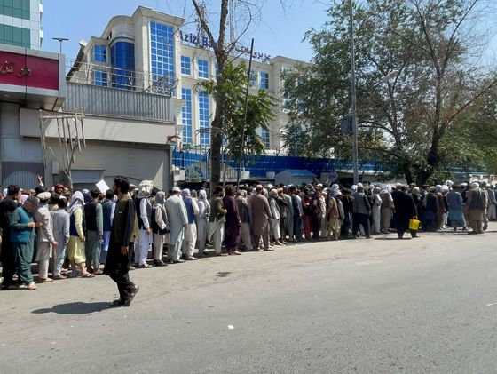 Afghanistan's Economy Is Collapsing as Cash Disappears