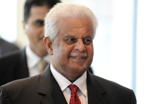 Former Qatari Oil Minister Abdullah Bin Hamad Al Attiyah