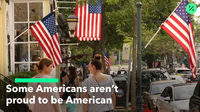 Americans Are Less Proud to Be Americans This Year