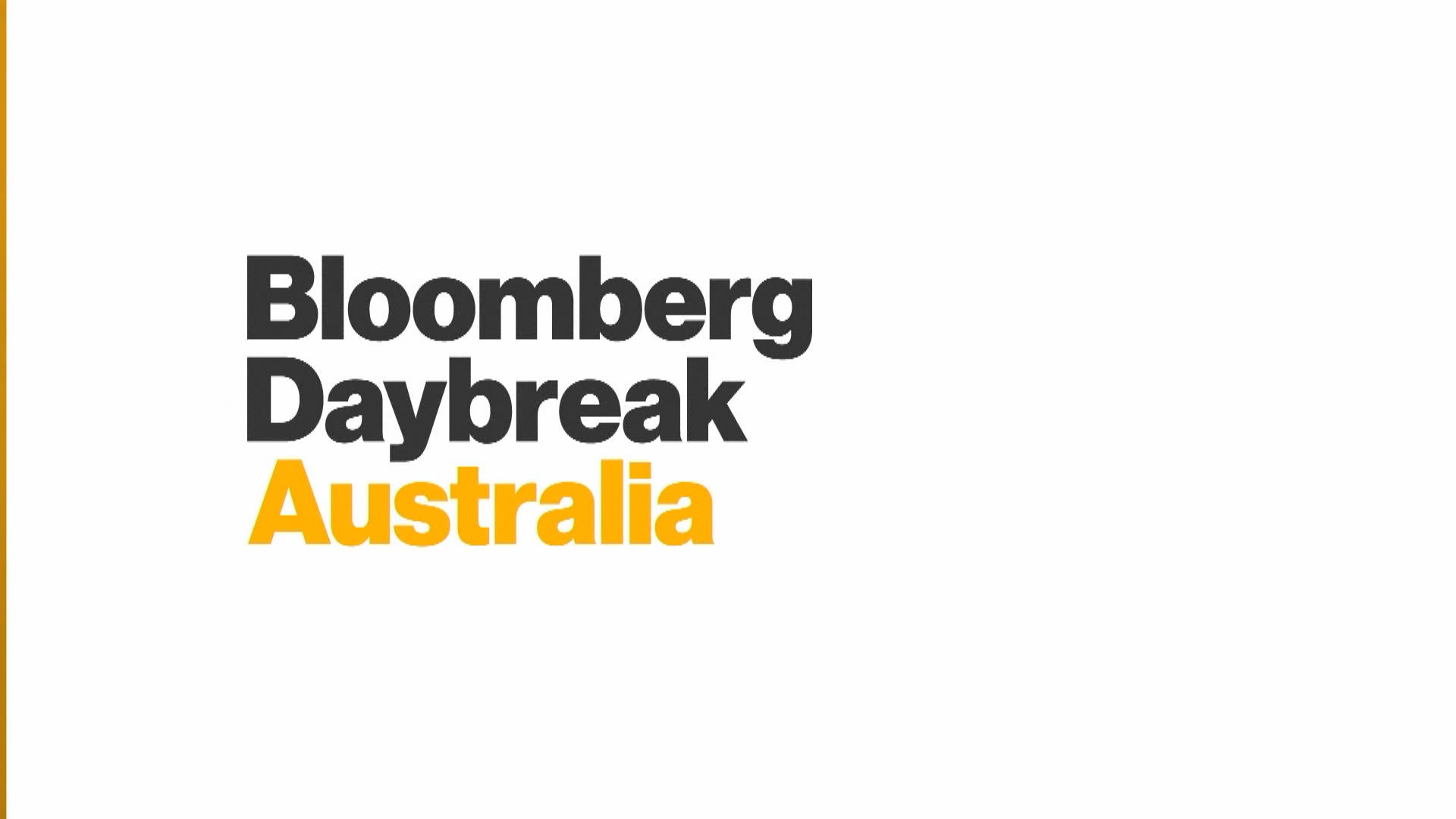 'Bloomberg Daybreak: Australia' Full Show (07/24/2019)
