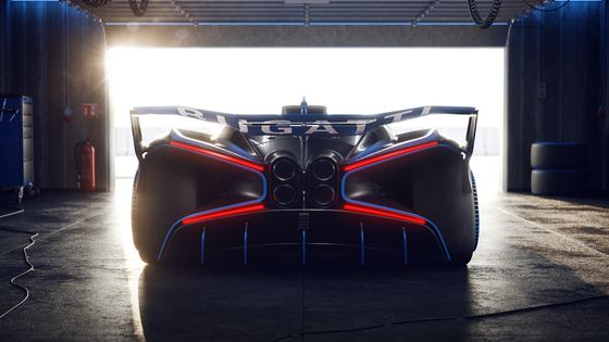 Bugatti Is Making theBolide Hypercar Concept a Reality